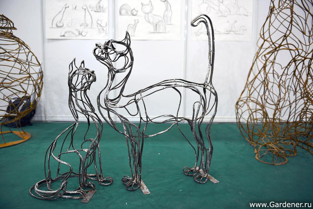 Фигуры из проволоки своими руками пошагово животных 65